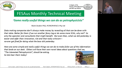 Webcasts: Technical Meetings – FESAus